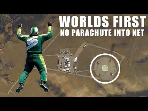 Люк Эйкинс прыгнул без парашюта с 7 км и безопасно приземлился