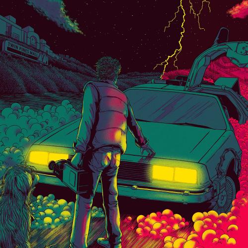Постер фильма Назад в будущее