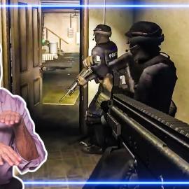 Командир SWAT разбирает игру SWAT 4