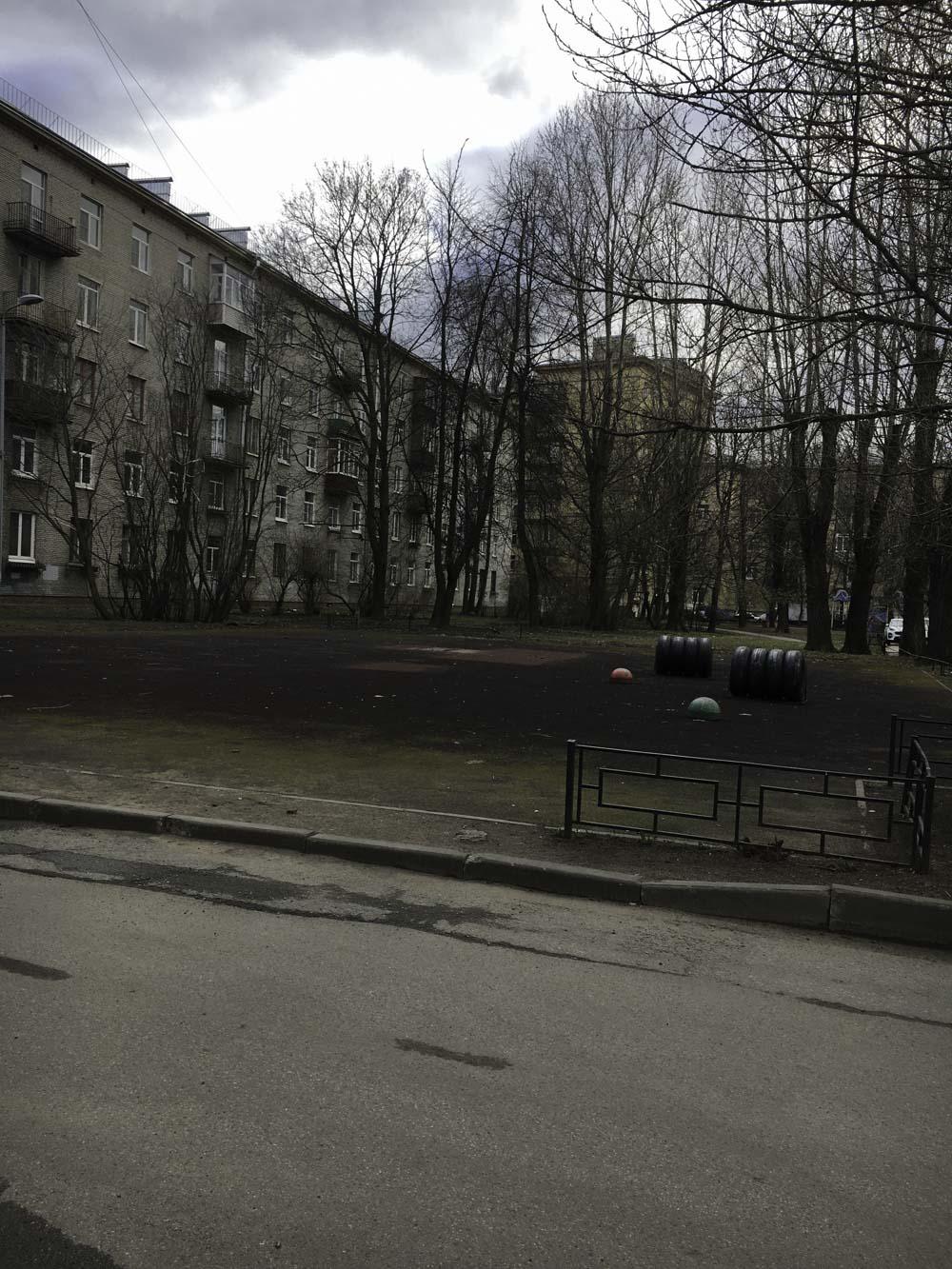 Паркур-площадку на Кировском заводе снесли