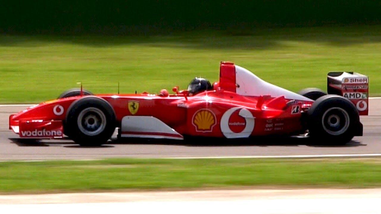 Лучший звук Формулы 1: Ferrari F2002