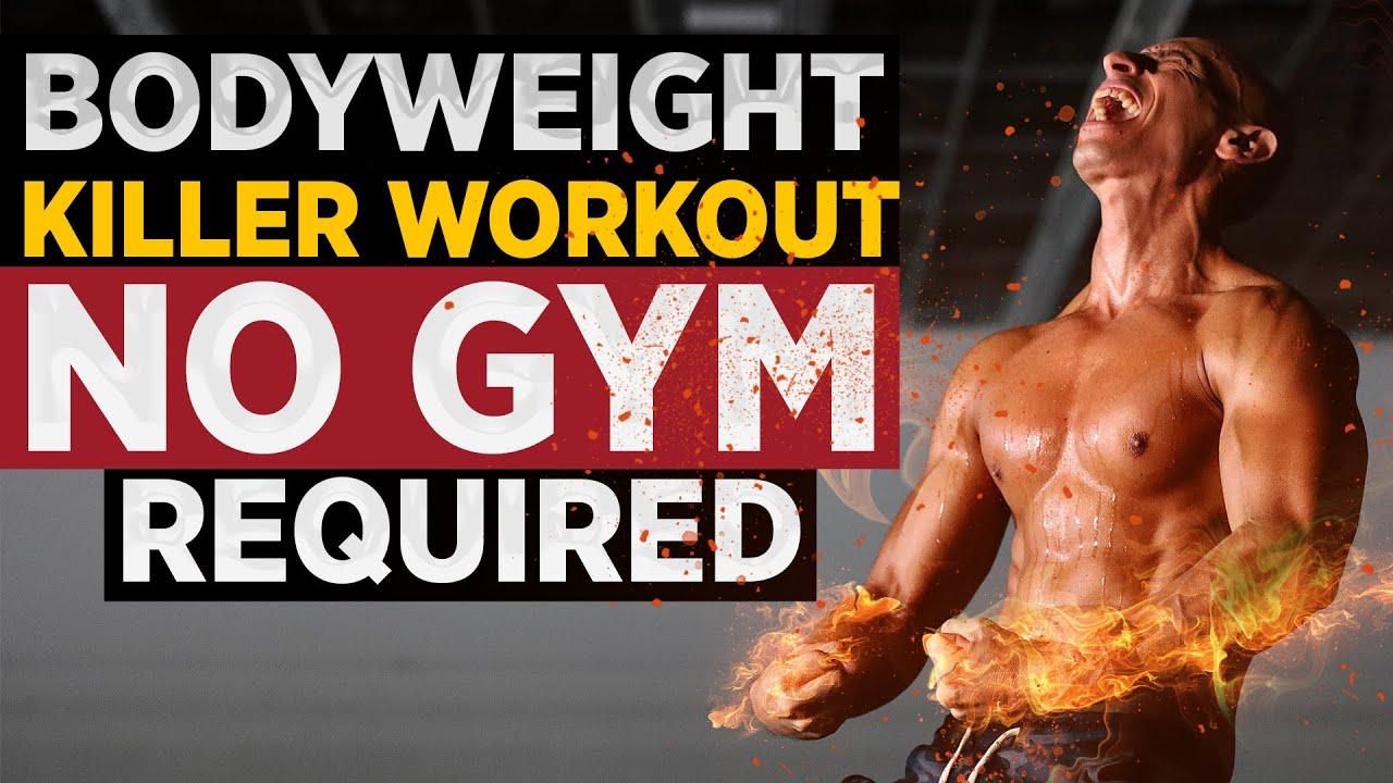 Мощная тренировка с собственным весом от Фрэнка Медрано